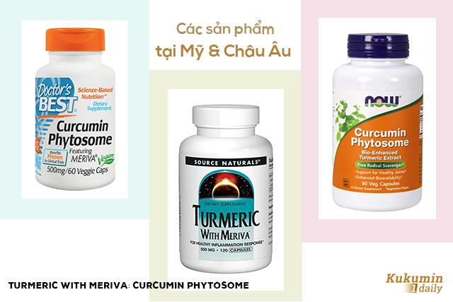 Kukumin 1 Daily, Kukumin Daily chứa Curcumin Phytosome
