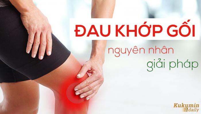đau khớp gối - giải pháp an toàn - Kukumin 1 Daily