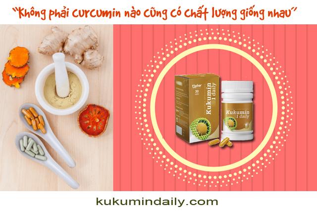 Kukumin 1 daily curcumin phytosome cho bệnh tuyến giáp